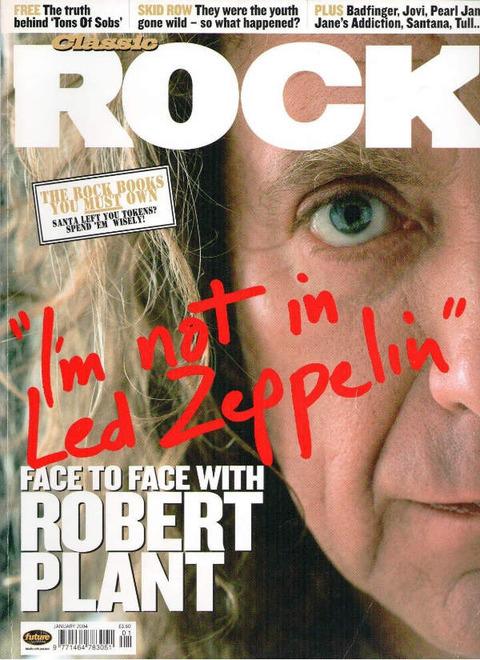 Classic Rock #62 (Jan 2004) cover
