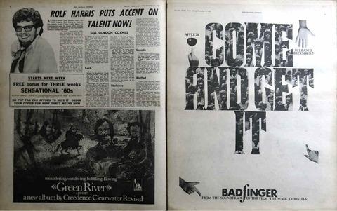 NME #1195 (Dec 6, 1969) ad