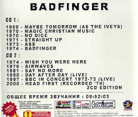Badfinger 2CD back