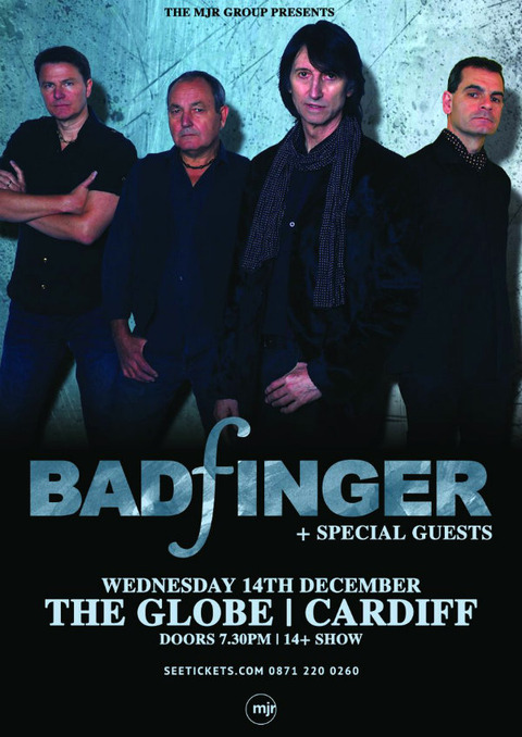 Badfinger - The Globe, Cardiff (Dec 14, 2016)