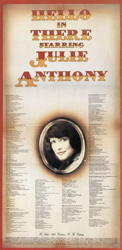 Julie Anthony - Without You 1975 i