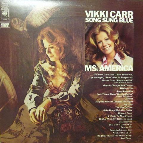Vikki Carr - Song Sung Blue +