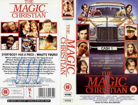 The Magic Christian VHS 95m MIA