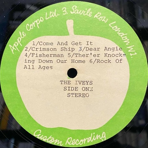 Magic Christian Apple Records Acetate Iveys a