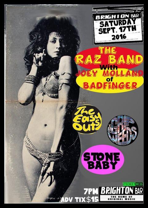 RAZ Band Sep 17, 2016