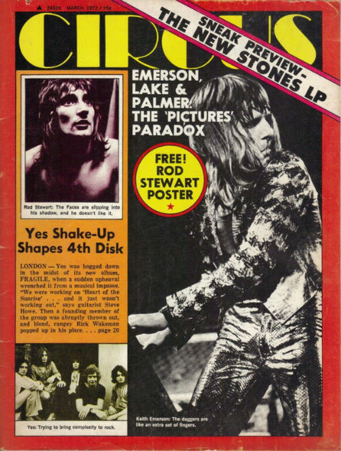 Circus March 1972 cover