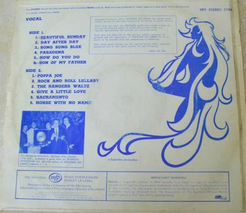 Springbok Hit Parade 6 (1972) back