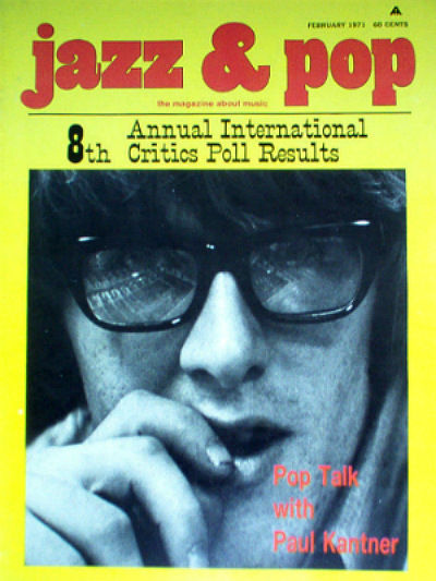 Jazz & Pop Feb 1971 cover