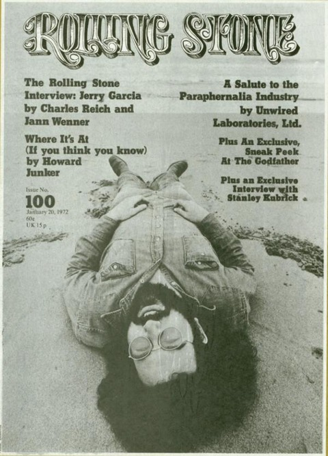 Rolling Stone #100 (January 20, 1972) cover