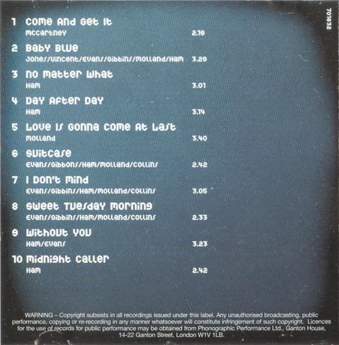 bjm CD 2002 Hallmark Come and Get It i