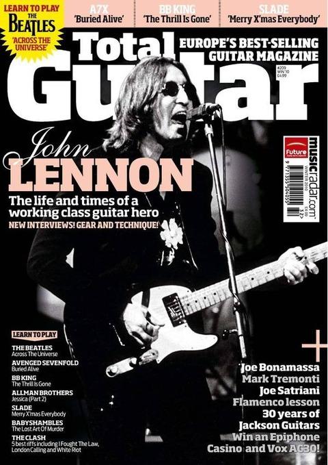 Total Guitar #209 Winter 2010 cover