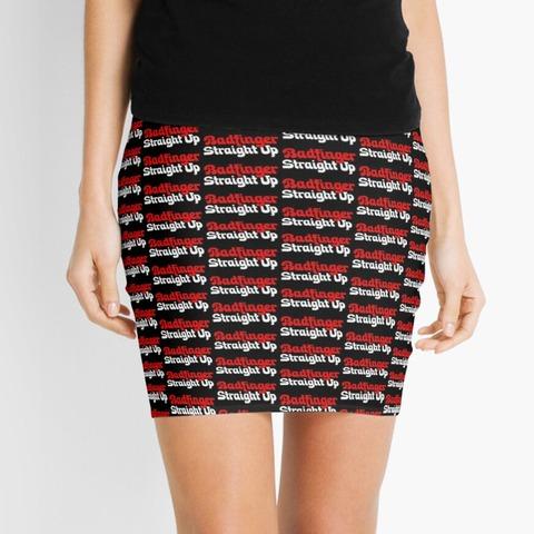 Badfinger Straight Up Mini Skirt