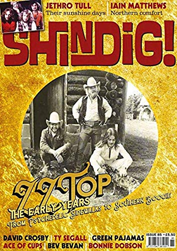 Shindig #85 Nov 2018 cover