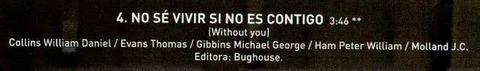 Fabiola Rodas No sé vivir si no es contigo