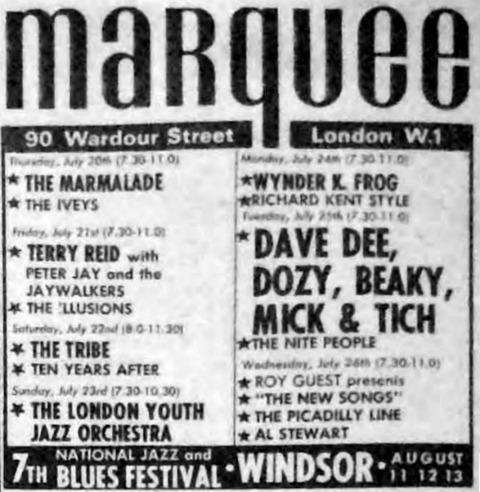 Melody Maker 1967-0722