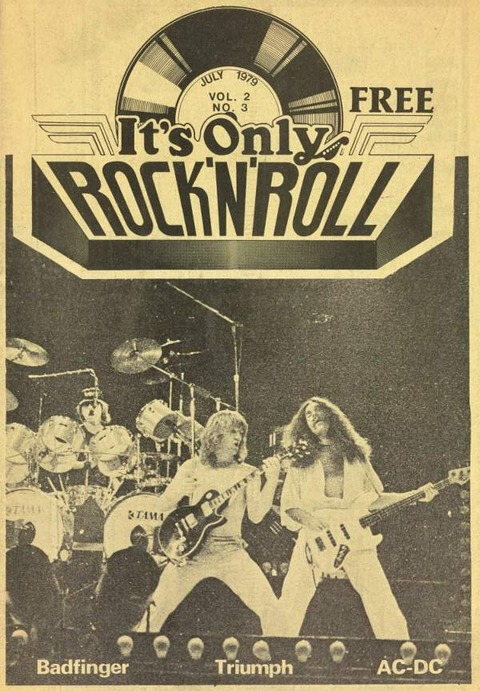It's Only Rock 'N' Roll, Volume 2 #3, July 1979 cover