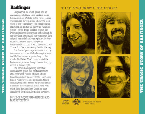 The Tragic Story of Badfinger, An Audio Documentary with Songs b