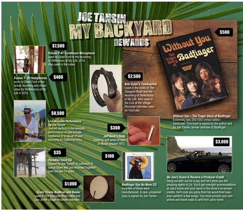 Joe Tansin Kickstarter