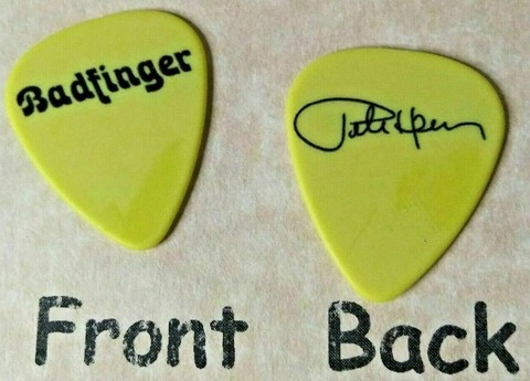 BADFINGER band logo PETE HAM signature guitar pick b