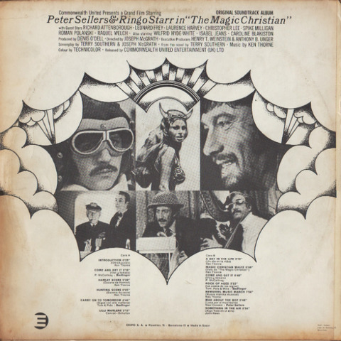 The Magic Christian OST 3514-GS back