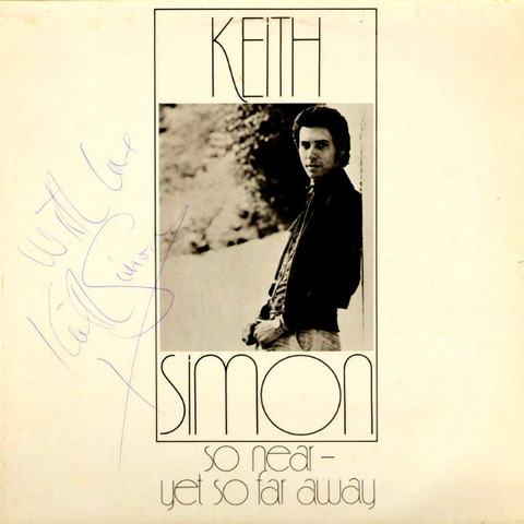 Keith Simon - So Near - Yet So Far Away a