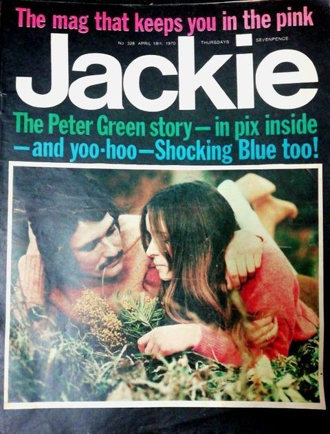 Jackie #328 April 18, 1970 cover