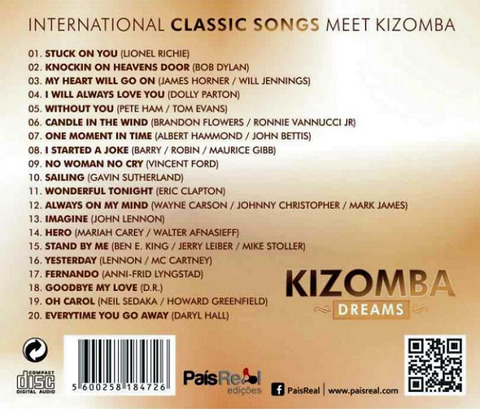 Kizomba Singers - Kizomba Dreams back