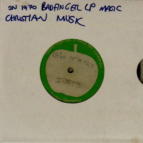 Lot 7 IVEYS - GIVE IT A TRY - APPLE 7' ACETATE Omega