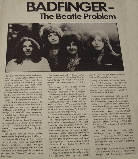 Hit Parader August 1972 Badfinger