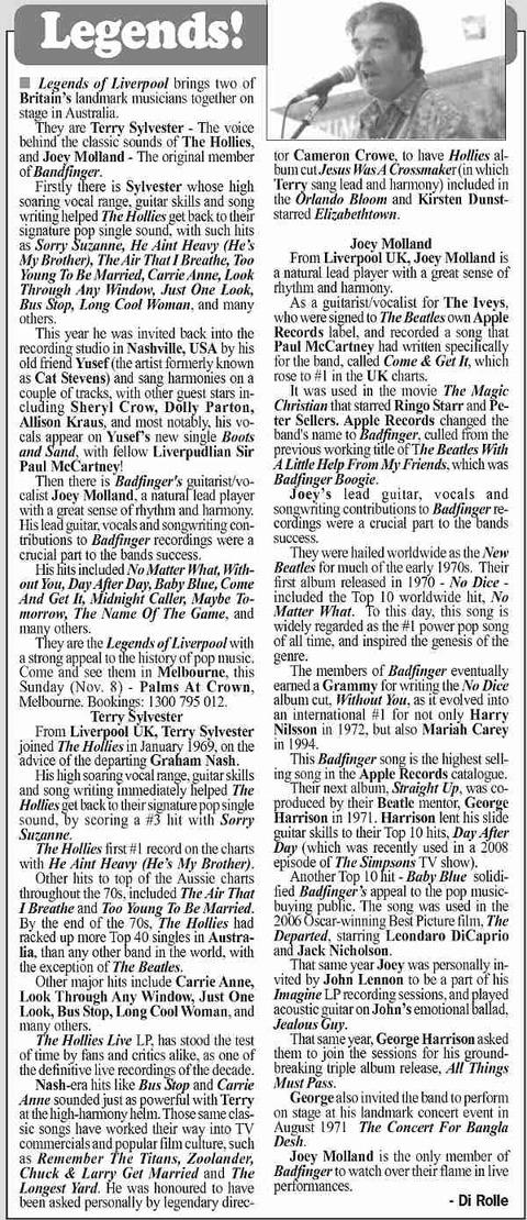 Melbourne Observer Nov 4, 2009
