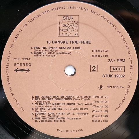 Bamses Venner - 16 Danske Træffere r