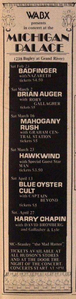 Ann Arbor Sun Feb 22, 1974
