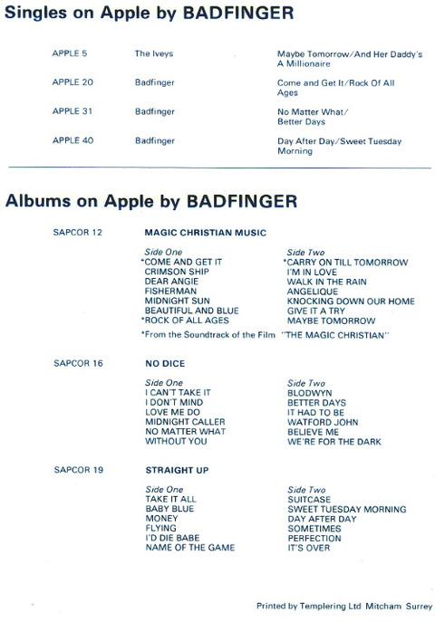 Badfinger Biography 4