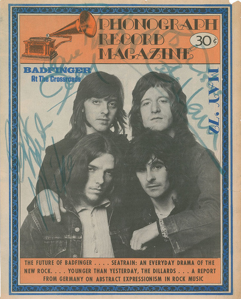 Phonograph Record Magazine May 1972 signed