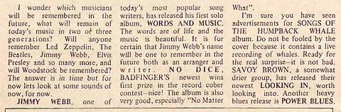 The Ridgerunner (November 30, 1970)