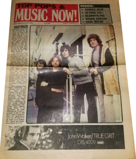 Top Pops & Music Now #109 (Jan 31, 1970)