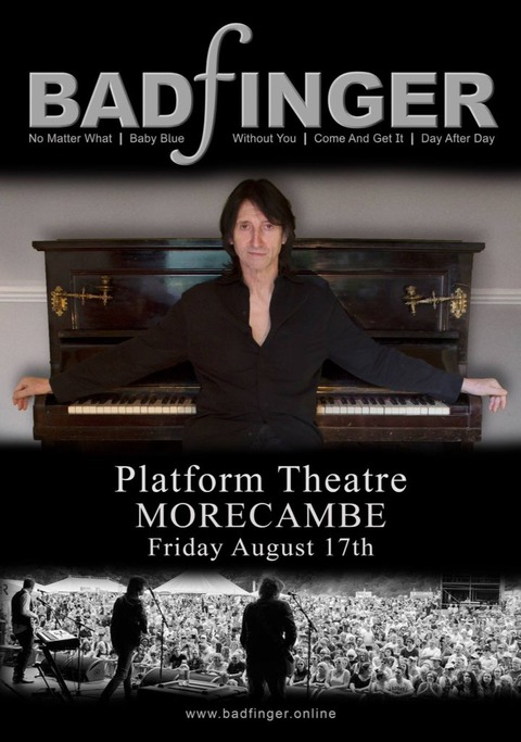 Badfinger August 17, 2018 Platform Theatre Morecambe