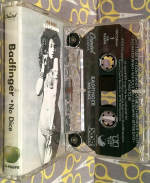 Badfinger - No Dice cass C4-98698 1992
