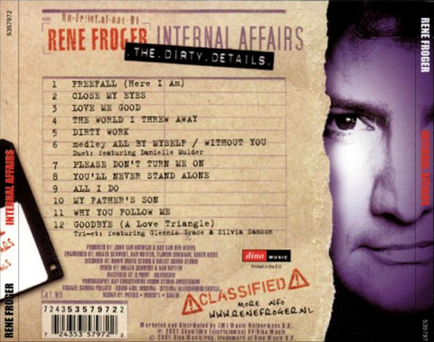 René Froger - Internal Affairs b