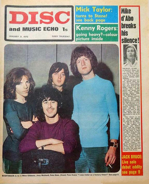 Disc and Music Echo (January 31, 1970) cover