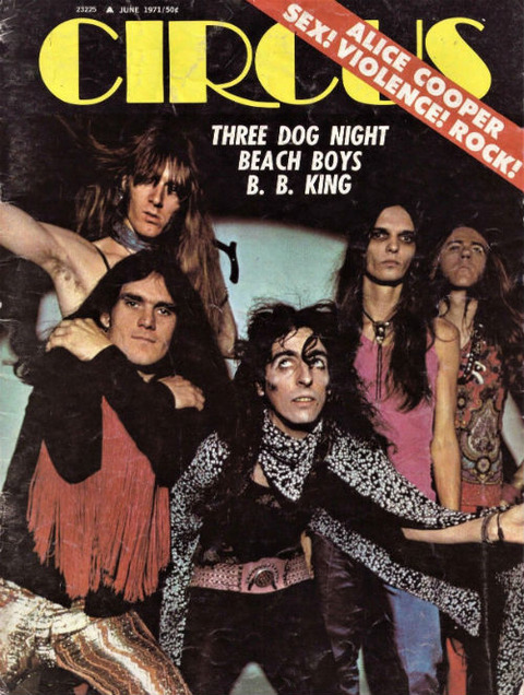 Circus June 1971 cover
