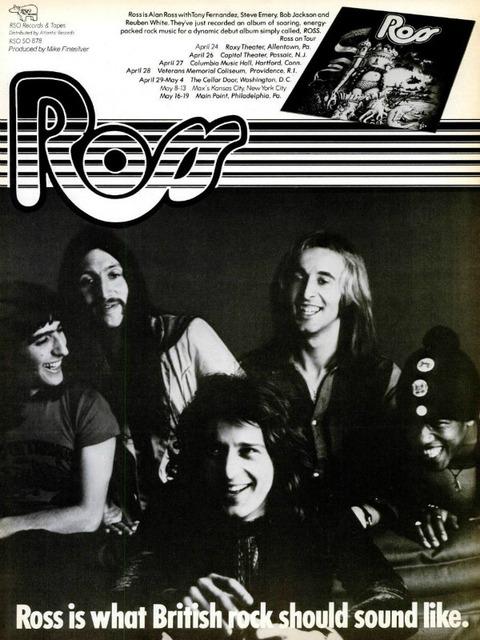 Ross Billboard April 27 1974 ad