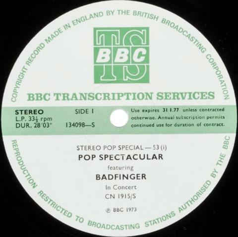 Badfinger BBCTS 1973