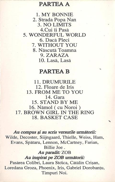 ZOB - Parodisiac (1996) c