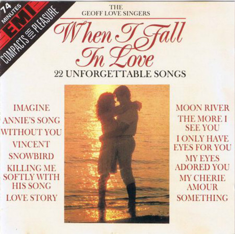 The Geoff Love Singers - When I Fall in Love - 22 songs (CD1989)