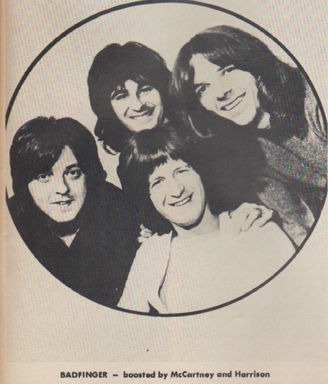 Badfinger - boosted by McCartney and Harrison