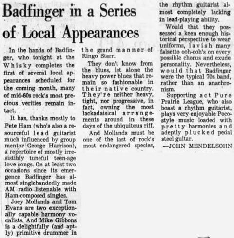 The Los Angeles Times (Feb 23, 1972)