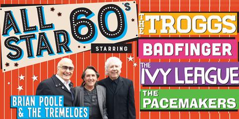 All Star 60s The Orchard Theatre, Dartford