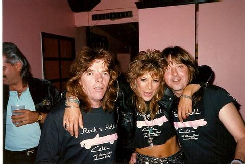 Badfinger Rock n' Roll Cafe '89 Vicki Abelson Joey Mike big