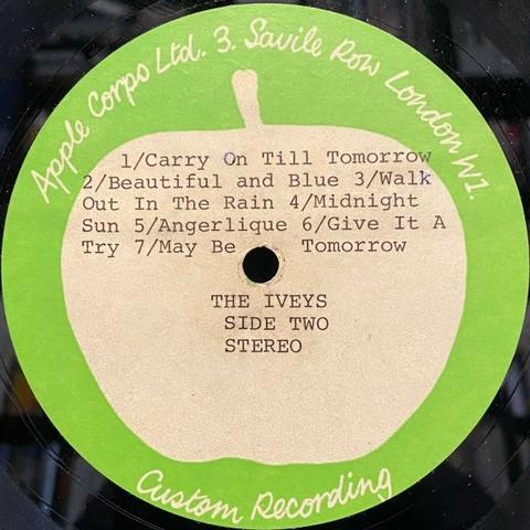 Magic Christian Apple Records Acetate Iveys b